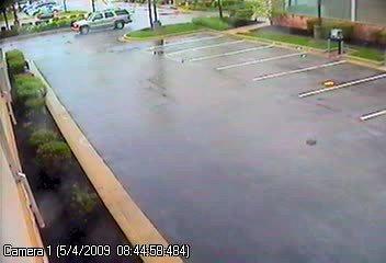 Suspected getaway vehicle