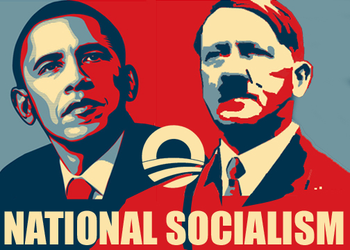 Obama, Hitler &#038; Annapolis Politics