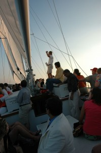 Sailing events on the Schooner Woodwind (Summer 2014)