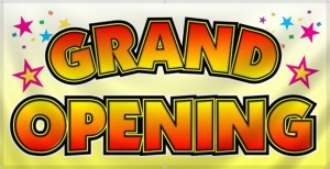 grand opening