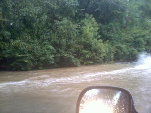 TS Nicole Flooding Mayo Morad in Edgewater Maryland