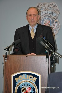 John R. Leopold announces arrests