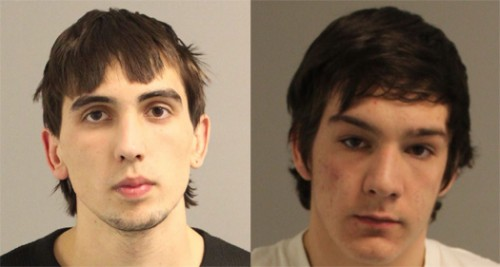 Aikin and Powell Booking Photos