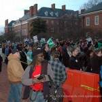 Union Members March On Annapolis