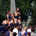 USNA Herndon Monument Climb (PHOTOS)