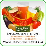 Harvest Beer Festival-September 17th