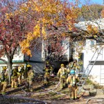 Pasadena House Fire (Photos)