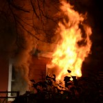 Riverside Drive House Fire Photos