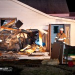Car Crashes Into Home On Central Avenue