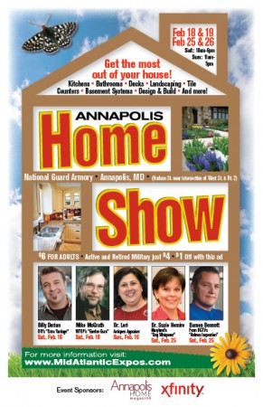 Dr. Lori At Annapolis Home Show