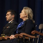 Secretary Clinton Addresses Midshipmen In Annapolis