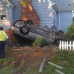 Man Crashes Car Into Annapolis Home