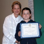 Crofton 5th Grader Wins Rotary Essay Prize