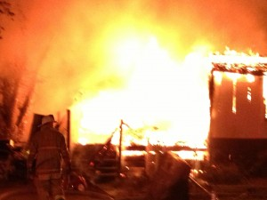 Lothian mobile home fire. Anne Arundel County Maryland