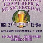 The Annapolis Craft Beer and Music Festival, October 27th