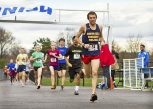 Nathan Bickell wins AACC Turkey Trot