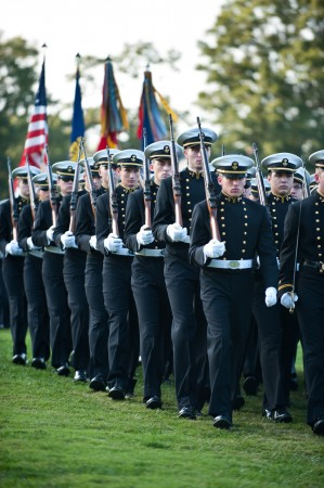 USNA's 24th Company To March In Inaugural Parade