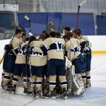 Navy Hockey Coach Fox Wins 100th Victory