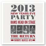 New Year&#8217;s Eve &#8211; Rams Head Style