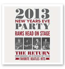 It&#8217;s A Rams Head New Years Eve