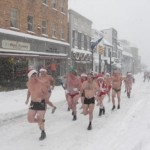 Santa Speedo Run 2012