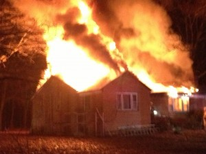 Harwood House Fire