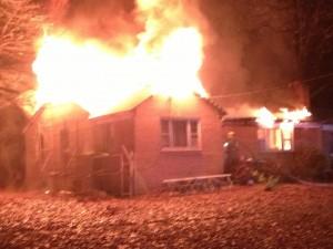 Harwood House Fire