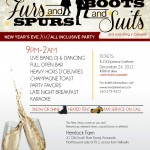 Furs To Spurs New Years Eve Party To Benefit Food Link