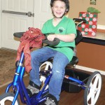 A Young Boy's Surprise For Christmas