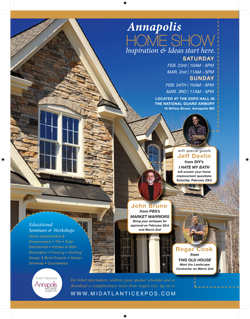 Annapolis Home Show Coming Up–Mark Your Calendars
