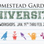 Homestead Gardens University Underway