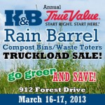 Compost Bin, Rain Barrel, & Toter Sale  March 16 and 17