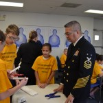 Training Ship Reina Mercedes Cadets Embark on SeaPerch Project