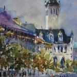 """Watercolor: Bold & Beautiful"" Solo Show For Bruce Handford"
