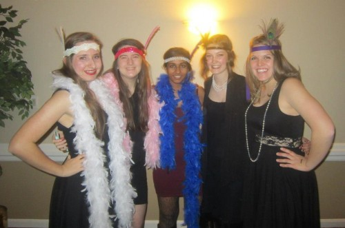 Attendees of the 1920's themed fundraiser