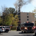 Three Alarm Fire In Watergate Apartment Complex In Annapolis