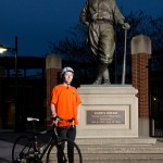 Local Man Sets Off On Bicycling Journey To Raise $1 Million