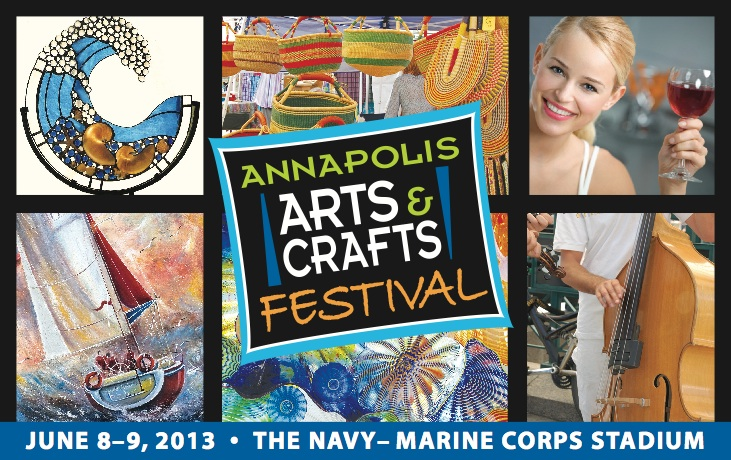 save june 8 9 the annapolis arts and crafts festival featuring