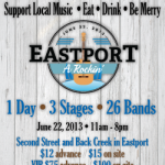 Eastport A Rockin' Rolling Into Town This Weekend
