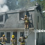 Annapolis Fire Displaces 2, Destroys Home