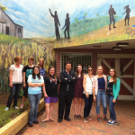 Students And Community Paint Mural Depicting Life In Southern AA County
