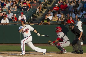 Baysox Drop Waterlogged Game