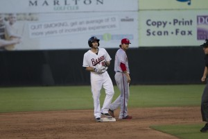 Wild pitch dooms Baysox