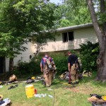 One Displaced In Davidsonville 2-Alarm Fire