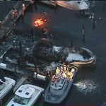 Large Fire At Oak Grove Marina