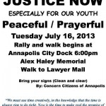 Walk For Trayvon Planned In Annapolis Tonight