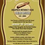 Annapolis Rotaract Cigar Dinner
