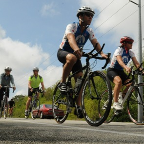 Local resident participating in 100 mile ride to end Alzheimer's