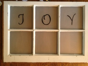 Window with JOY