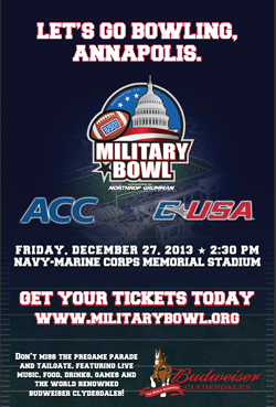 Marshall Vs Maryland* In The Military Bowl